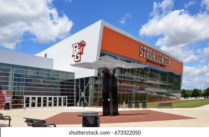 BOWLING GREEN, OH - JUNE 25: Stroh Center arena at Bowling Green State University in Bowling Green, Ohio, is shown on June 25, 2017. It has Gold LEED Certification.