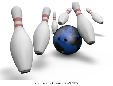Bowling with the planet