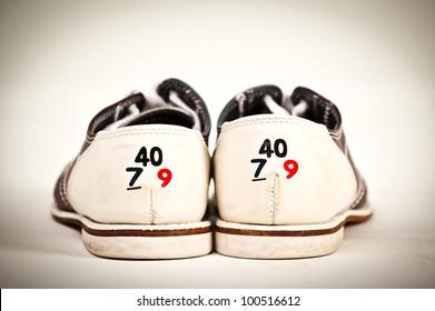 Bowling Shoe, shoe size