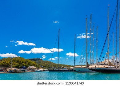 Bows of Sailboats