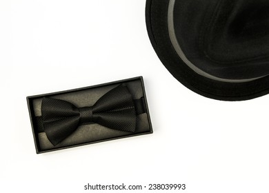 Bowtie and a hat