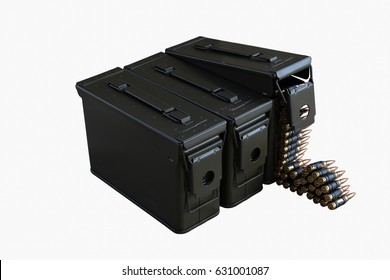 It is a box of ammunition.