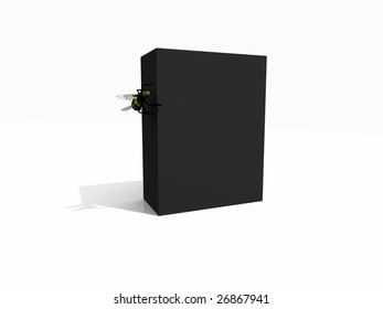 box with bee