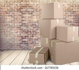 Box, Cardboard Box, Shipping.