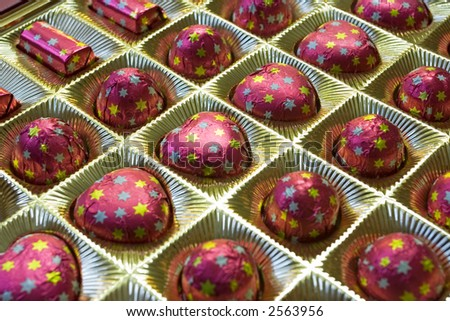Box Chocolate Candies Valentines Day Gift Stock Photo Edit Now