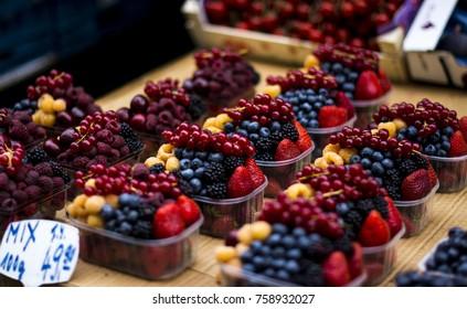 Box of fruits