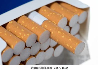 a box full of cigarettes / Cigarettes