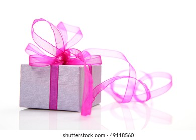 Box with a gift
