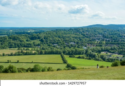 Box Hill is a summit in Surrey. The hill gets its name from the ancient box woodland. The Old Fort a mobilisation centre built in the 1890s.