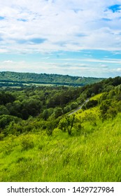 Box Hill is a summit in Surrey. The hill gets its name from the ancient box woodland.