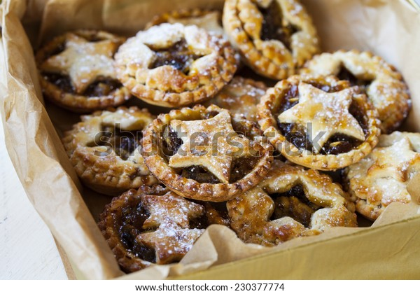 Box of home made mince pies