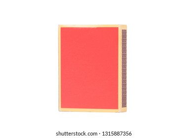 Box of matches, isolated on a white background