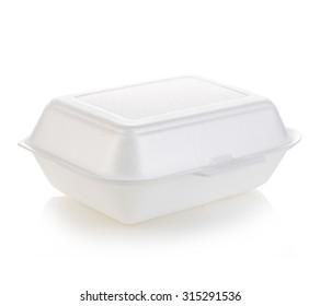 Box white isolated