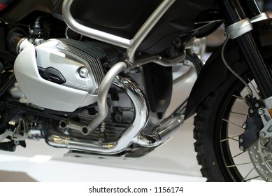 Boxer engine of offroad motorcycle
