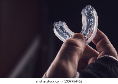 boxer teeth protection. mouthguard