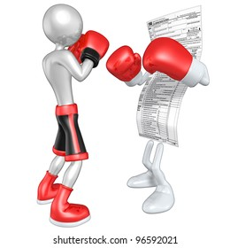 Boxer Versus 1040 Tax Form