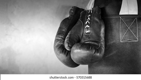 Boxing poster background