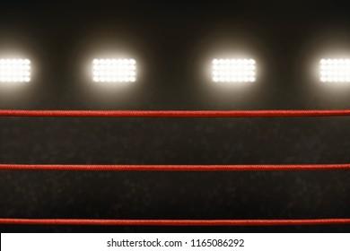 Boxing ring ropes