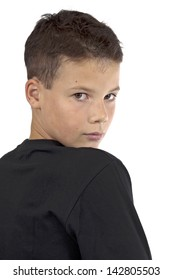 cute 13 year old boy brown stock photo edit now 2509897 shutterstock