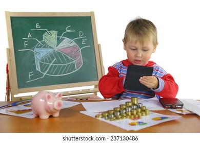 boy develops business strategy