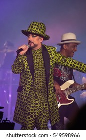 Boy George, Mikey Craig Culture Club 14 December 2016 Wembley SSE Arena London End of Tour
