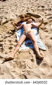 Naked beach babes Spain Beach Girl Stock Photos Images Photography Shutterstock