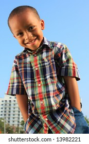 Boy with Hands in His Pocket