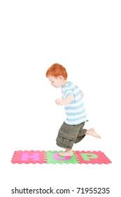 Kids Hopping Images, Stock Photos & Vectors   Shutterstock