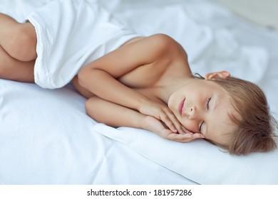 Boy, lie in bed