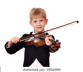 boy little violinist
