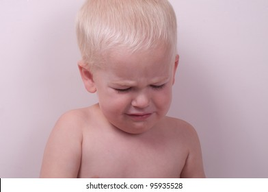 boy looking sad, crying