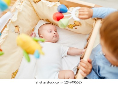 Imágenes, fotos de stock y vectores sobre Baby Asleep Cot