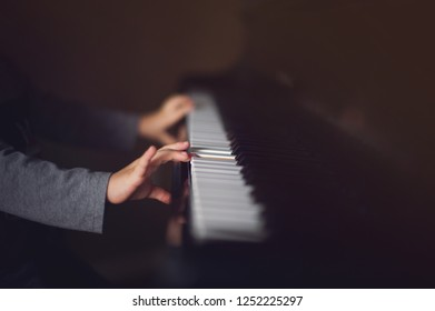 Scary Piano Music