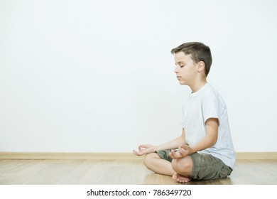 boy practicing yoga, meditation as a way of life