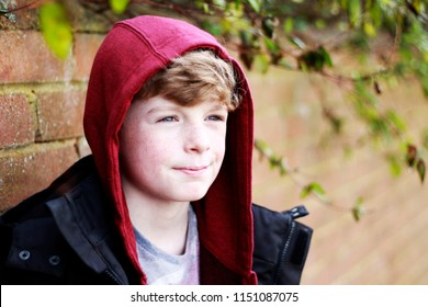 Boy with a red hood