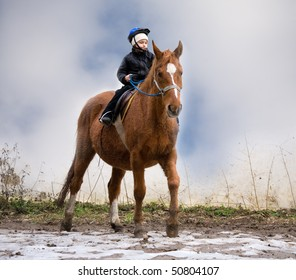 Boy Riding School learns to be a rider