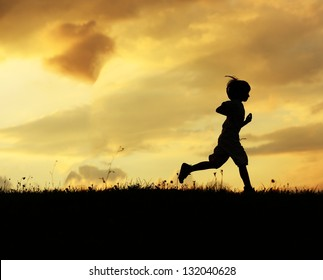 Running Boy Images Stock Photos Vectors Shutterstock