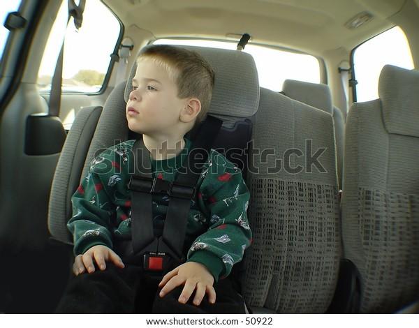 Boy in Van