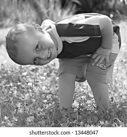 Boy - vintage photography