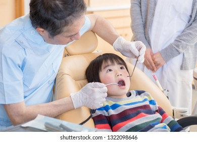 The boy who came to the dental clinic