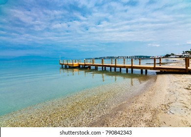 Boyalik Beach of Cesme Town in Turkey