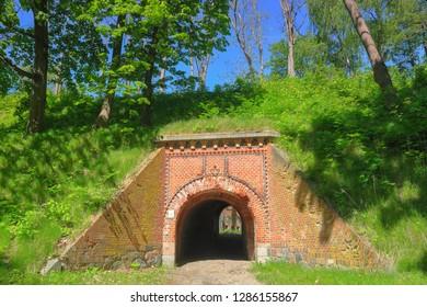 Boyen fortress in Masuria