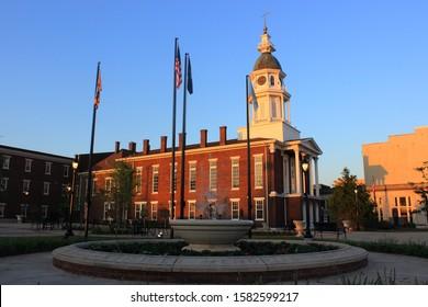 Boyle county court house in Danville, Kentucky - Shutterstock ID 1582599217