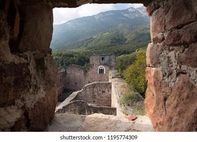 Boymont castle in South Tyrol near Bozen, Italy