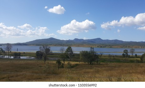 Boynedale Bush camp, Queensland. Located 140km south of Rockhampton. Beautiful lake full of barrcuda and a amazing set of hills