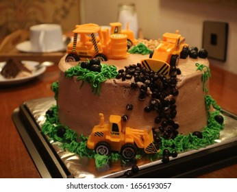 Enjoyable Construction Cake Stock Photos Images Photography Shutterstock Funny Birthday Cards Online Alyptdamsfinfo