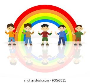 Boys Rainbow