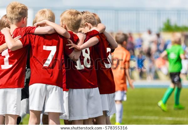 Foto De Stock Sobre Equipo De Fútbol Masculino Academia