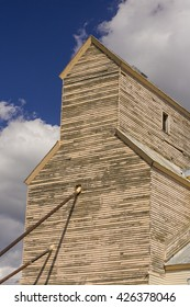 BOZEMAN, MONTANA, USA - AUGUST 2004: Old grain elevator.