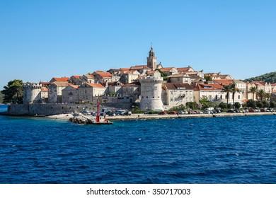 Brac Island, Croatia - 31 August 2008 - Brac Island in Croatia on a beautiful sunny day.